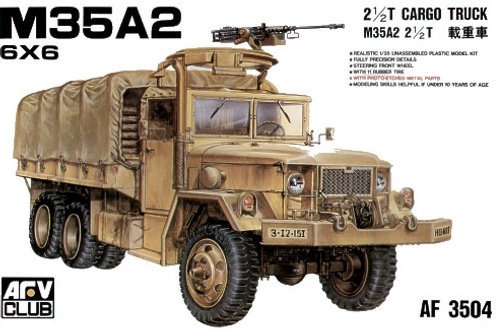 AFV Club - M35A2 6x6 2-1/2 ton Cargo Truck 1/35