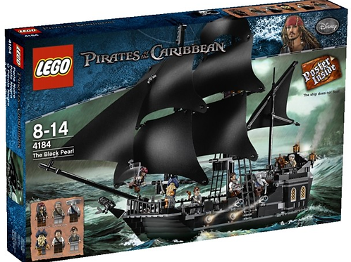 Lego 4184 Pirates of the Caribbean - Black Pearl