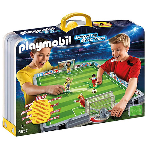 Playmobil 6857 Sports & Action - Take Along Soccer Field