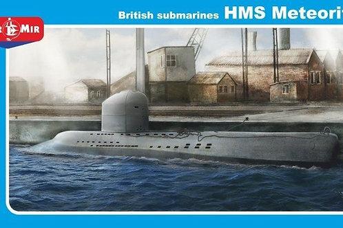 Mikro-Mir - British Submarine HMS Meteorite 1/144