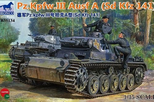 Bronco - Pz.Kpfw.III Ausf A (Sd.Kfz.141) 1/35
