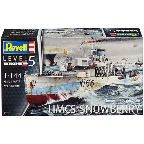 Revell 05132 - Flower Class Corvette HMCS Snowberry 1/144