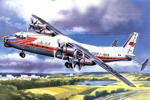 Amodel - Antonov An-10A 1/72