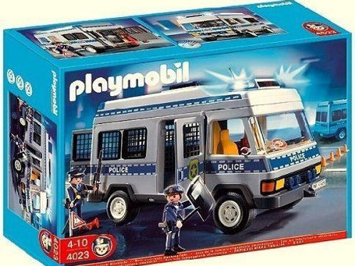 Playmobil 4023 City Action - Police Van