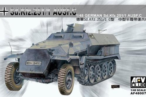 AFV Club - Sd.Kfz.251/1 Ausf.C Half-Track Armored