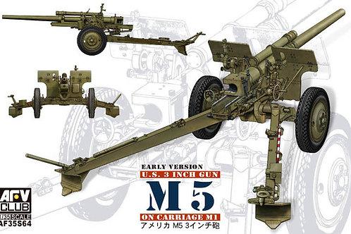 AFV Club - U.S. 3 Inch Gun M5 on Carriage M1 1/35