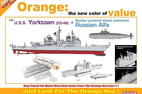 Cyber-Hobby - USS Yorktown (CG-48) + Russian Alfa