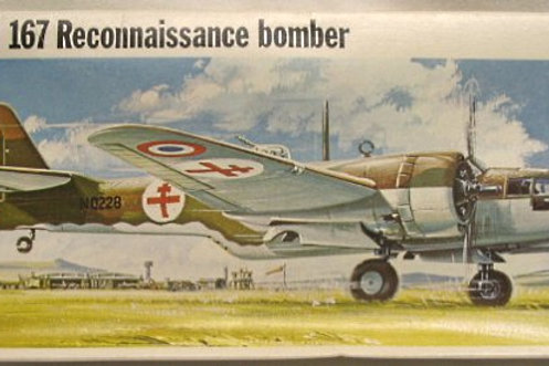 Frog - Maryland 167 Reconnaissance Bomber 1/72