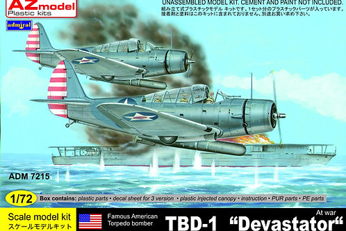 Admiral - Douglas TBD-1 Devastator At War 1/72