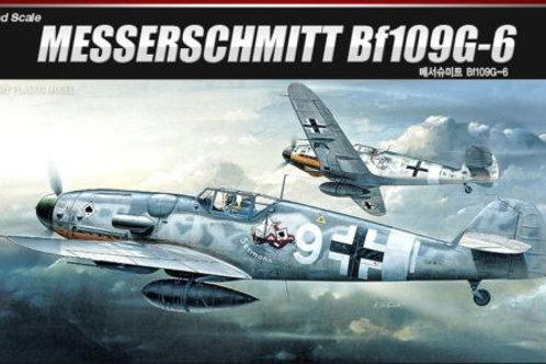 Academy - Messerschmitt Bf-109 G-6 1/72