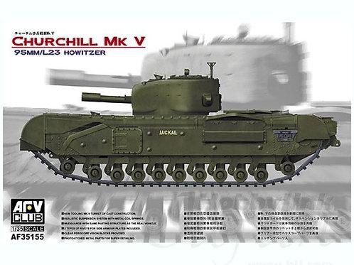 AFV Club - Churchill Mk.V 95mm/L23 Howitzer 1/35