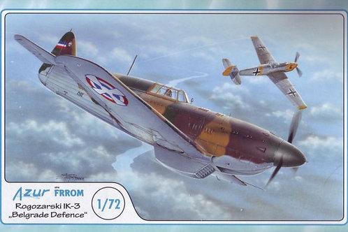 Azur - Rogozarski IK-3 'Belgrade Defence' 1/72