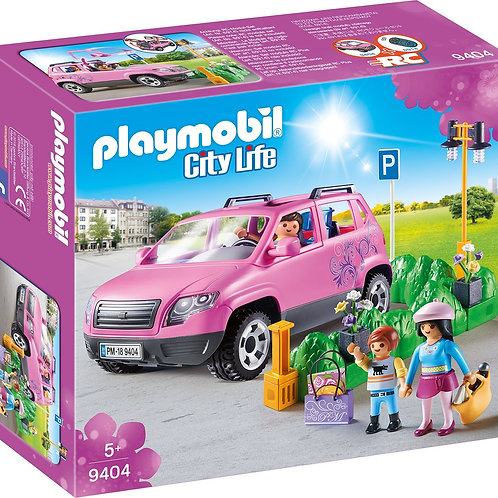 Playmobil 9404 City Life - Family Car with Parking Space