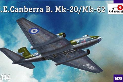 Amodel - EE Canberra B. Mk.20/Mk.62 1/144