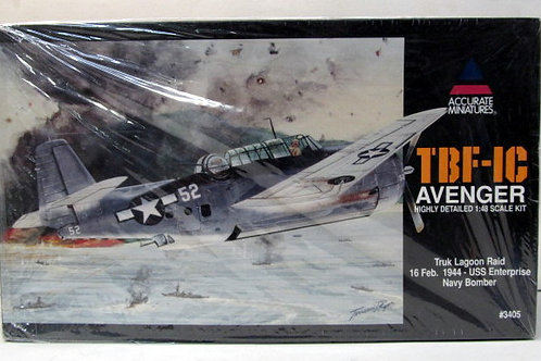 Accurate Miniatures - US Navy TBF-1C Avenger 1/48