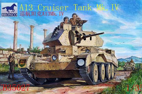 Bronco - A13 Mk.II Cruiser Tank Mk.IV 1/35