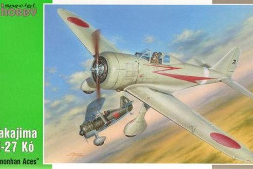 Special Hobby - Nakajima Ki-27 Nate Nomonhan Aces