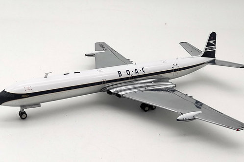 Inflight 200 - DeHavilland DH106 Comet 4 BOAC G-APDC with Stand 1/200
