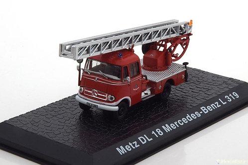 Altaya - DL 18 Mercedes-Benz L319 Fire Dept. Metz 1/72