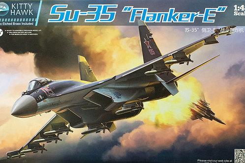 Kitty Hawk - Sukhoi Su-35 Flanker-E 1/48