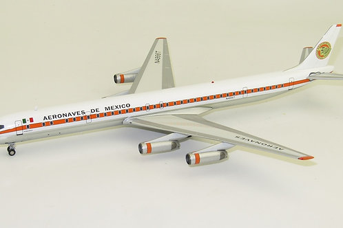 Inflight 200 - Douglas DC8-63CF Aeronaves de Mexico N4866T Polished with Stand