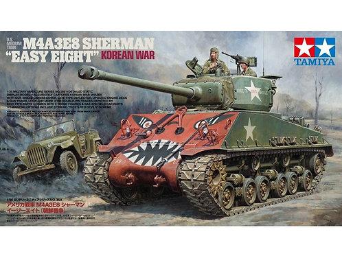 "Tamiya - US Medium Tank M4A3E8 Sherman - ""Easy Eight"" Korean War 1/35"