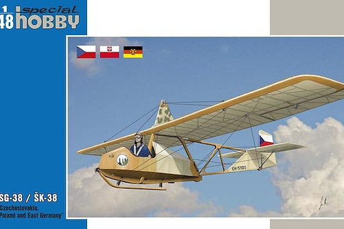 Special Hobby - DFS SG-38 Czech, Polish & DDR 1/48