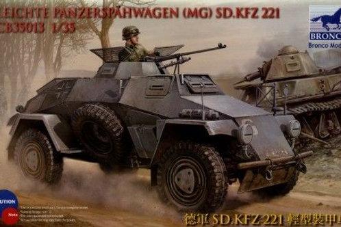 Bronco - Sd.Kfz.221 Leichte Panzerspähwagen (MG)