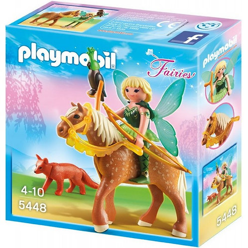 Playmobil 5448 Fairies - Forest Fairy Diana With Horse