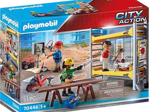Playmobil 70446 City Action - Scaffolding with Craftsmen