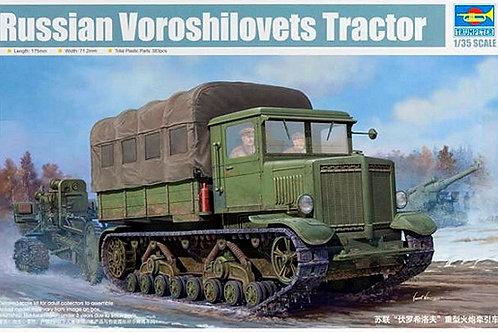 Trumpeter - Russian Voroshilovets Tractor 1/35