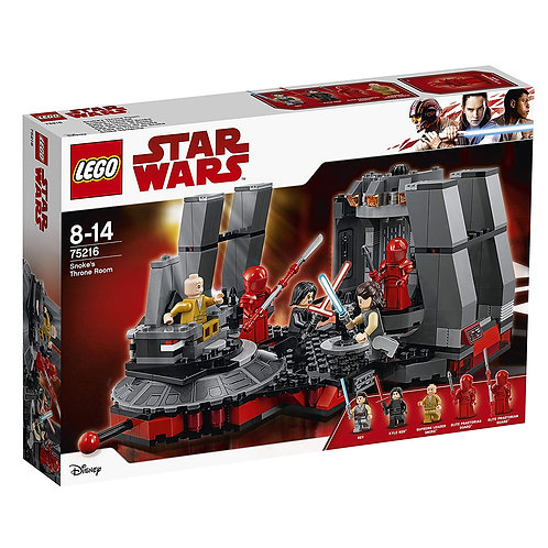 Lego 75216 Star Wars - Snoke's Throne Room