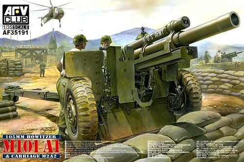 AFV Club - M101 A1 105mm Howitzer & M2A2 Carriage