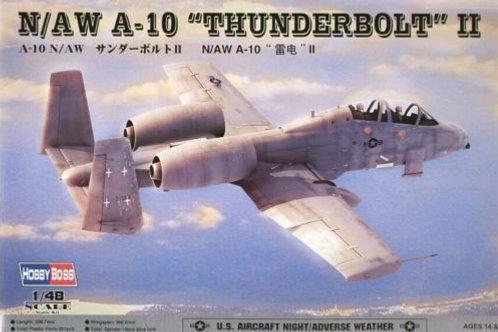 Hobbyboss - N/AW A-10 Thunderbolt II 1/48