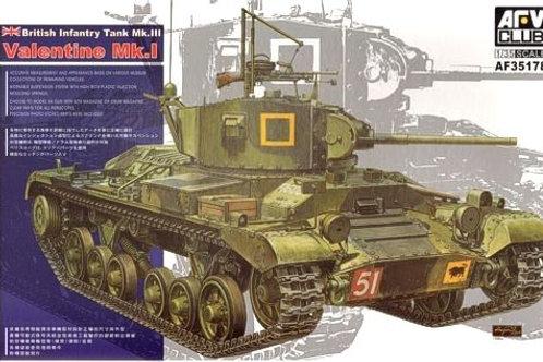 AFV Club - British Infantry Tank Valentine Mk.I