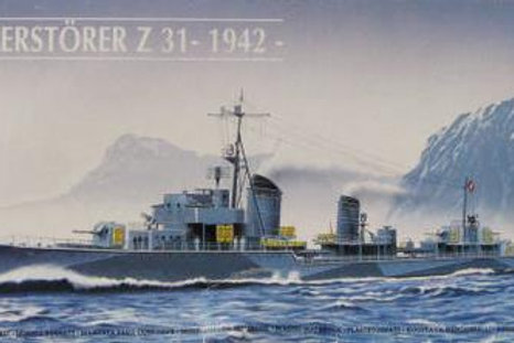 Heller - German Destroyer Z-31 1942 1/400