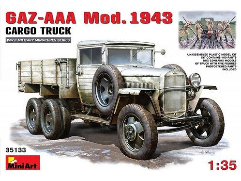 MiniArt - GAZ-AAA Mod. 1943 Cargo Truck 1/35