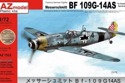 AZ Model - Messerschmitt Bf 109 G-14AS 1/72