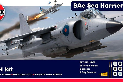 Airfix - Sea Harrier FRS1 - Gift Set 1/24
