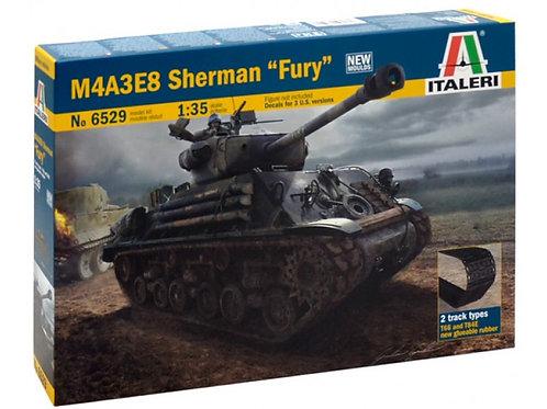 "Italeri - M4A3E8 Sherman ""Fury"" 1/35"