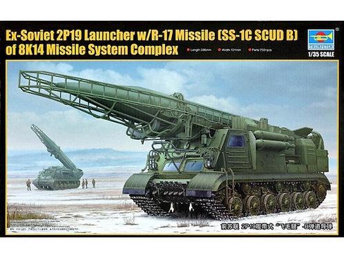 Trumpeter - Ex-Soviet 2P19 Launcher w/R-17 Missile (SS-1C SCUD) 1/35