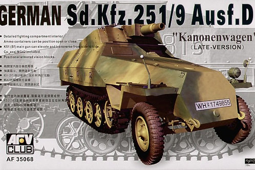AFV Club - Sd.Kfz.251/9 Ausf.D Kanonenwagen 1/35