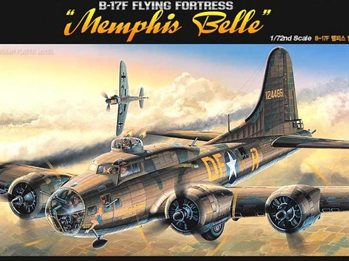 Academy - B-17F Flying Fortress Memphis Belle 1/72