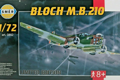 Smer -  Romanian  Air Force Bloch M.B.210 1/72