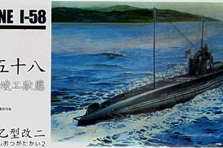 AFV Club - Japanese Navy I-58 Submarine 1/350