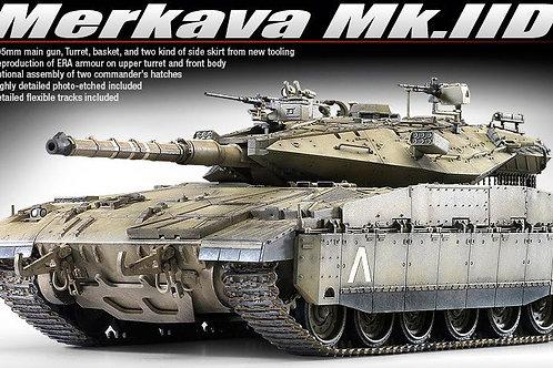 Academy - Merkava Mk.IID IDF w/New Turret 1/35