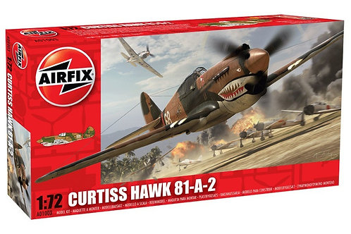 Airfix - Curtiss Hawk 81-A-2 / P-40B Tomahawk 1/72