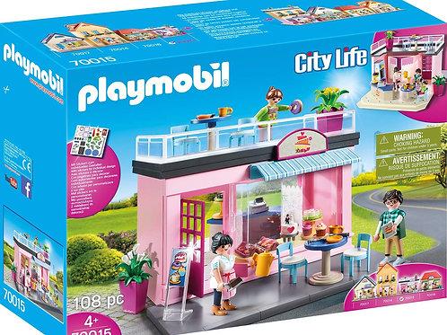 Playmobil 70015 City Life - My Favourite Café