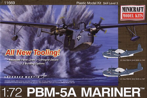 Minicraft - Martin PBM-5A Mariner Flying Boat 1/72