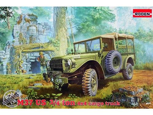 Roden - Dodge M37 3/4 Ton 4x4 Cargo Truck 1/35